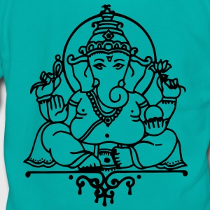 Elephant Ganesha Women's T-Shirts - Unisex Fleece Zip Hoodie by American Apparel