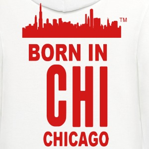 BORN IN CHICAGO - Contrast Hoodie