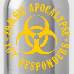 zombie apocalypse firts responders - Water Bottle