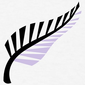 A silver fern symbol of New Zealand Aotearoa Phone & Tablet Cases - Men's T-Shirt