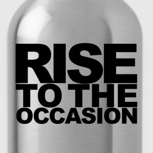 Rise to the Occasion Blue and Black - Water Bottle