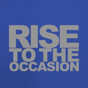 Rise to the Occasion Blue and Silver - Kids' Premium Hoodie