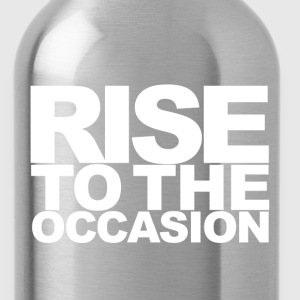 Rise to the Occasion Blue and White - Water Bottle