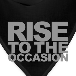 Rise to the Occasion Navy and Silver - Bandana