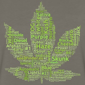 seedfinder.eu - strain leaf T-Shirts - Men's Premium Long Sleeve T-Shirt