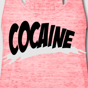 cocaine T-Shirts - Women's Flowy Tank Top by Bella