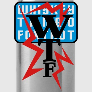 wtf_vec_3 T-Shirts - Water Bottle