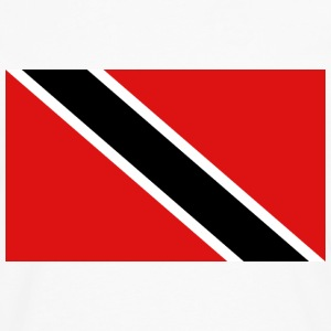 Trinidad Flag T-Shirt - Men's Premium Long Sleeve T-Shirt