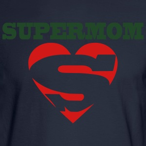 supermom t shirt - Men's Long Sleeve T-Shirt