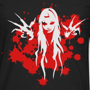 bloody witch T-Shirts - Men's Premium Long Sleeve T-Shirt