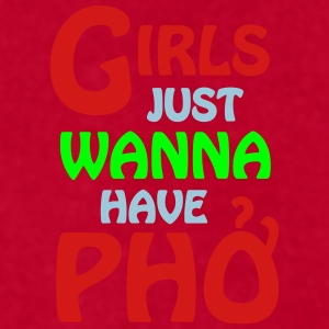Girls Just Wanna Have Pho Caps - Men's T-Shirt by American Apparel