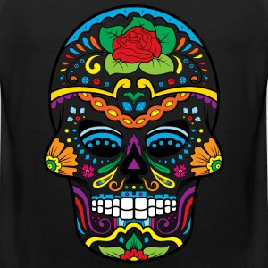 Sugar Skull Women's T-Shirts - Men's Premium Tank