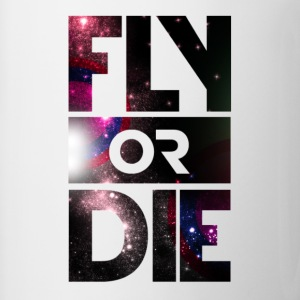 Fly Or Die Tee - Coffee/Tea Mug
