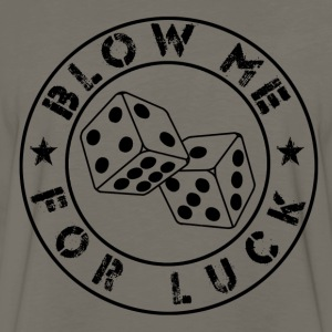 blow me for luck - Men's Premium Long Sleeve T-Shirt