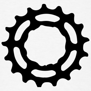 Wheel Gear Ring Mountainbike MTB Downhill 1c Tanks - Men's T-Shirt