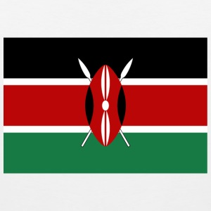 Kenya Flag T-Shirt - Men's Premium Tank
