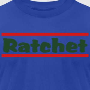 rachet2 Hoodies - Men's T-Shirt by American Apparel
