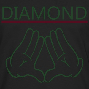 diamond Hoodies - Men's Premium Long Sleeve T-Shirt