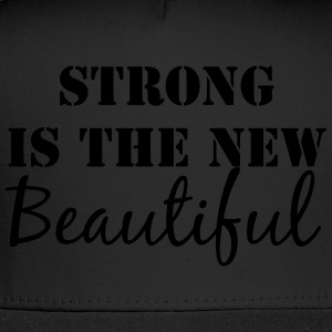 Strong is the new Beautiful tank top - Trucker Cap