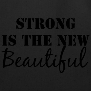 Strong is the new Beautiful tank top - Eco-Friendly Cotton Tote