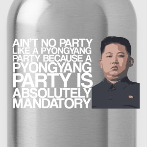 Kim Jong Party T-Shirts - Water Bottle