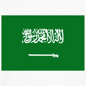 Saudi Arabia Flag T-Shirt - Men's Premium Long Sleeve T-Shirt