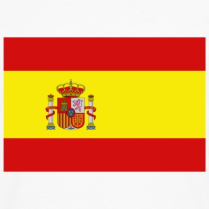 Spain Flag T-Shirt - Men's Premium Long Sleeve T-Shirt