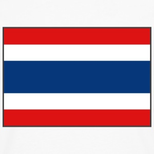 Thailand Flag T-Shirt - Men's Premium Long Sleeve T-Shirt
