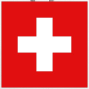 Switzerland Flag T-Shirt - Contrast Hoodie