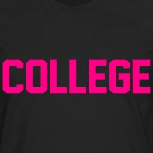 COLLEGE - Men's Premium Long Sleeve T-Shirt