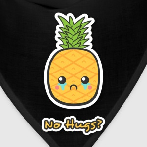 sad but cute pineapple that does not get any hugs Women's T-Shirts - Bandana