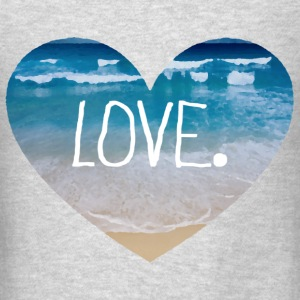 Love the Beach Long Sleeve Shirts - Men's T-Shirt