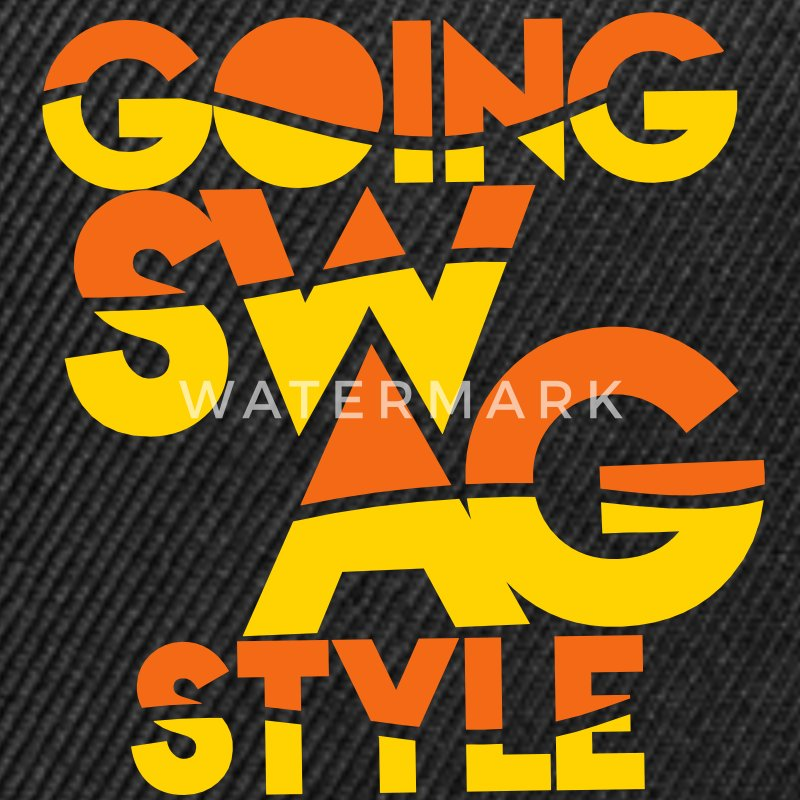 GOING SWAG STYLE two color Caps - Snap-back Baseball Cap