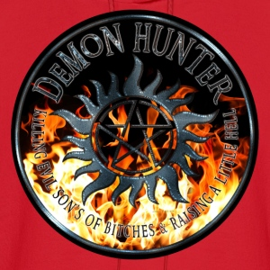 Demon hunter protection Symbal Ring Patch Flames 5 Kids' Shirts - Men's Hoodie
