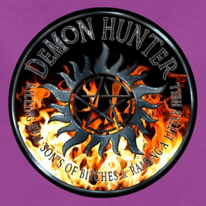 Demon hunter protection Symbal Ring Patch Flames 5 Baby & Toddler Shirts - Women's Premium T-Shirt
