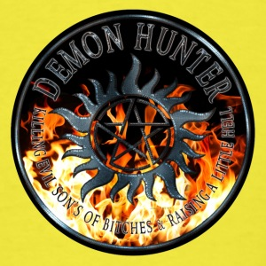 Demon hunter protection Symbal Ring Patch Flames 6 Baby & Toddler Shirts - Men's T-Shirt