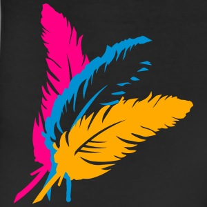 Three colorful feathers T-Shirts - Leggings