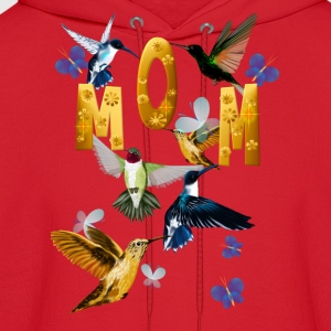 Mother's Day with humming birds - Men's Hoodie