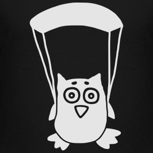 Owl paragliding Kids' Shirts - Toddler Premium T-Shirt