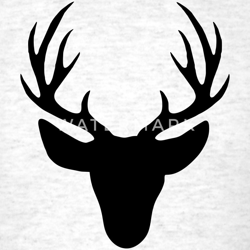 Deer antler T-Shirts - Men's T-Shirt