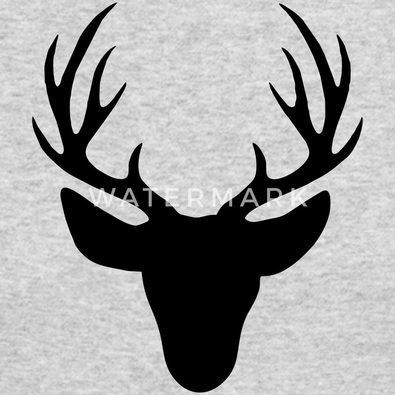Deer antler Long Sleeve Shirts - Men's Long Sleeve T-Shirt by Next Level