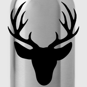 Deer antler T-Shirts - Water Bottle
