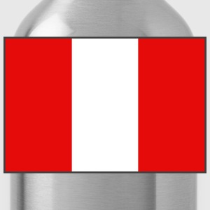 Peru Flag Sweatshirt - Water Bottle