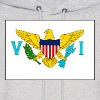 US Virgin Islands Flag Sweatshirt - Men's Hoodie