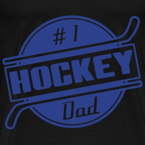 #1 Hockey Dad Bags  - Men's Premium T-Shirt