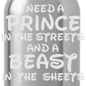 I NEED A PRINCE Women's T-Shirts - Water Bottle