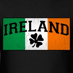 Vintage IRISH Flag - Men's T-Shirt