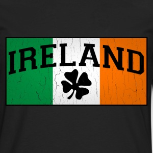 Vintage IRISH Flag - Men's Premium Long Sleeve T-Shirt
