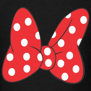 Minnie Bow Red Hoodies - Men's T-Shirt