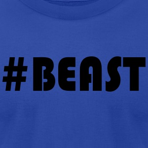 #BEAST fitted Tank - Men's T-Shirt by American Apparel